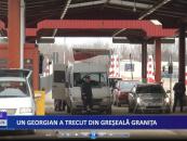 Un georgian a trecut din greșeală granița