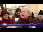 Ziua de marți a început cu un protest în  municipiul Botoșani