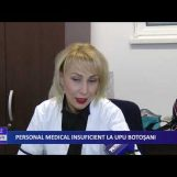 PERSONAL MEDICAL INSUFICIENT LA UPU BOTOȘANI