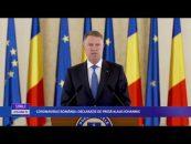 CORONAVIRUS ROMANIA DECLARAȚIE DE PRESĂ KLAUS IOHANNIS