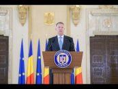 Declarația de presă susținută de Președintele României, domnul Klaus Iohannis