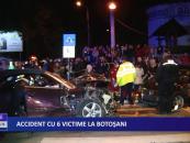 Accident cu 6 victime la Botoșani
