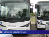 Autobuze noi la Botoșani