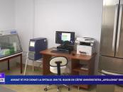 Aparat real time PCR donat la spitalul din Tg Bujor de către Universitatea Apollonia din Iași