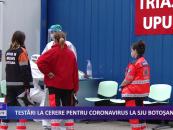 Testări la cerere pentru coronavirus la SJU Botoșani