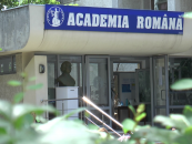 Bustul lui Cristofor Simionescu, dezvelit în fața Academiei române filiala Iași