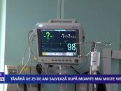Tânără de 25 de ani salvează după moarte mai multe vieți
