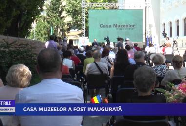 Casa muzeelor a fost inaugurată