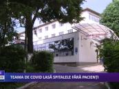 Teama de CoViD lasă spitalele fără pacienți