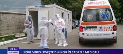 Noul virus lovește din nou în cadrele medicale