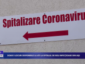 Doar 3 locuri disponibile la ATI la Spitalul de boli infecțioase Iași
