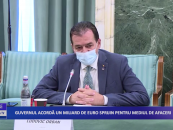 Guvernul acordă un miliard de euro spirjin pentru mediul de afaceri