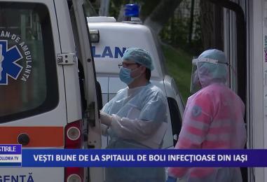 Vești bune de la Spitalul de boli infecțioase Iași