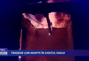 Tragedie luni noapte în județul Vaslui