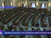 Creșterea alocațiilor cu 20%, respinsă de comisia de muncă din Senat