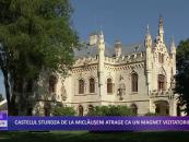 Castelul Miclăușeni atrage ca un magnet vizitatorii