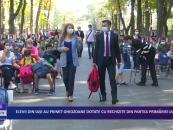 Elevii din Iași au primit ghiozdane dotate cu rechizite din partea Primărieri Iași