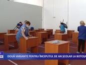 Două variante pentru începutul de an școlar la Botoșani
