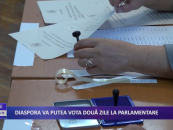 Diaspora va putea vota două zile la parlamentare
