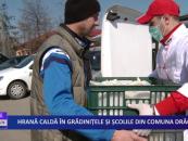 Hrană caldă în grădinițele și școlile din comuna Drăgușeni