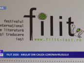 FILIT anulat din cauza coronavirusului