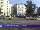 5 transplanturi în 3 zile la Spitalul Parhon