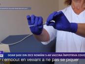 Doar șase din zece români s-ar vaccina împotriva CoViD-19