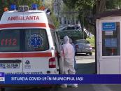 Situația CoViD-19 în municipiul Iași