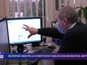 Inițiativă inedită la o instituție publică din municipiul Botoșani