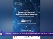 Congresul național de neuroștiințe moderne are loc între 4 – 8 noiembrie, online