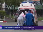 Explozie de noi cazuri de CoViD-19 în Iași