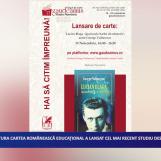 Editura Cartea Românescă Educațional a lansat cel mai recent studiu despre Lucian Blaga