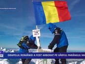 Drapelul României a fost arborat pe vârful Parângul Mare