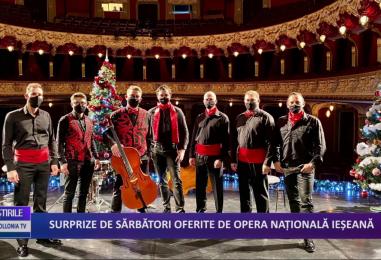 Surprize de sărbători oferite de Opera Națională din Iași