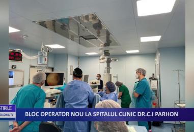 """Bloc operator nou la Spitalul Clinic """"dr C. I. Parhon"""" Iași"""