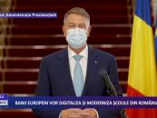 Banii europeni vor digitaliza și moderniza școlile din România