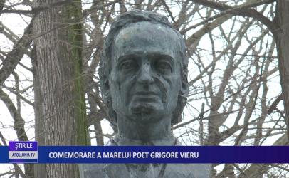 Comemorare a marelui poet Grigore Vieru