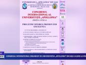 """Congresul Internațional organizat de Universitatea """"Apollonia"""" din Iași a ajuns la final"""