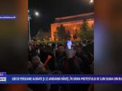 188 de persoane audiate și 12 jandarmi răniți, în urma protestului de luni seara din București