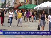 Economia României a crescut cu 2.8% în primul trimestru