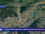 Licitație pentru primii 63 de km din Autostrada Moldovei