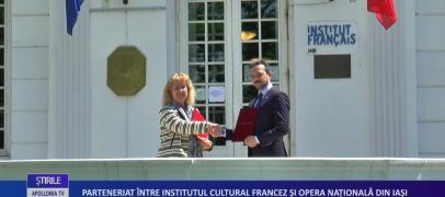 Parteneriat între Institutul Cultural Francez și Opera Națională din Iași