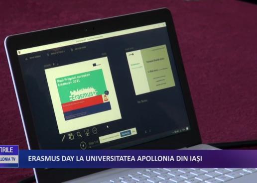 ERASMUS DAY la Universitatea Apollonia din Iași