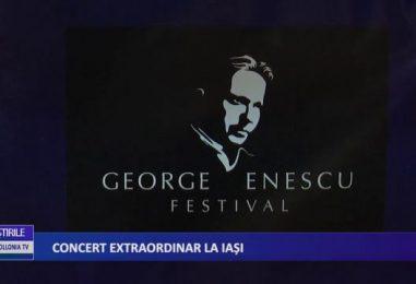 Concert extraordinar la Iasi