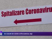 85 Cazuri de COVID-19 in Iasi
