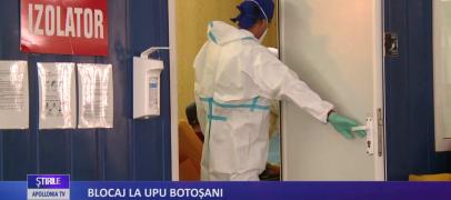 Blocaj la UPU Botosani